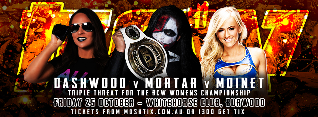 BCW34 Womwns Triple Threat Website Banner