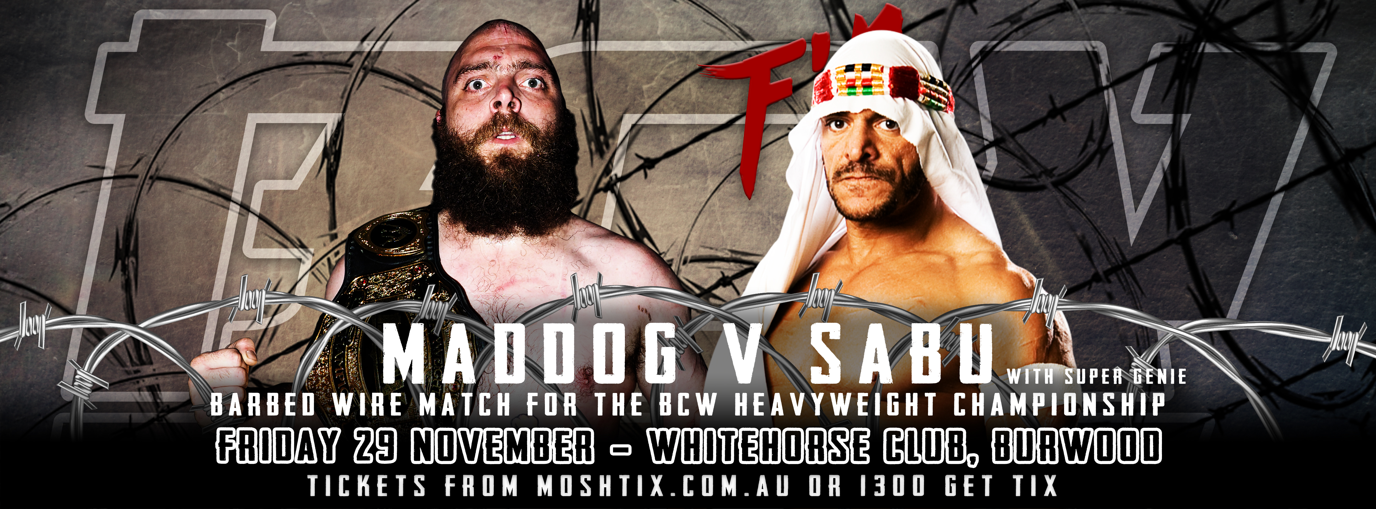 BCW35 - Friday 29 November - Whitehorse Club, Burwood