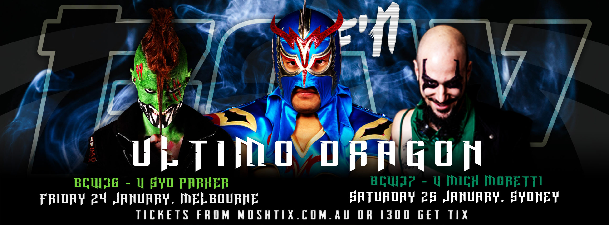 BCW36 - Friday 24 January, Melbourne | BCW37 - Saturday 25 January, Sydney