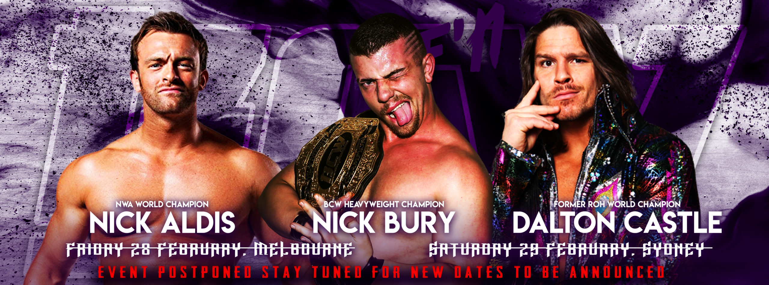 BCW40 - Friday 24 April, Melbourne | BCW41 - Saturday 25 April, Sydney